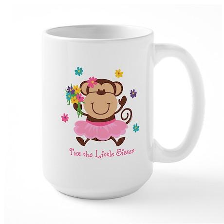 Monkey Little Sister Large Mug