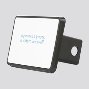 Quote A Person is a Person Rectangular Hitch Cover