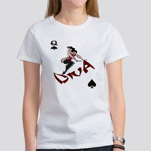 POKER DIVA DESIGN Women's T-Shirt