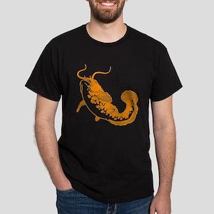 Orange Catfish Dark T-Shirt