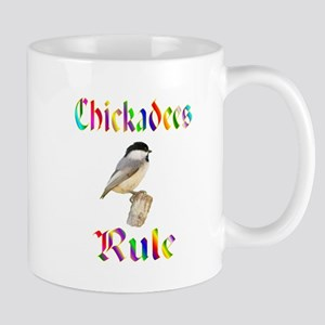 Chickadees Rule Mug