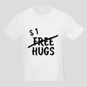 No more free hugs Kids Light T-Shirt