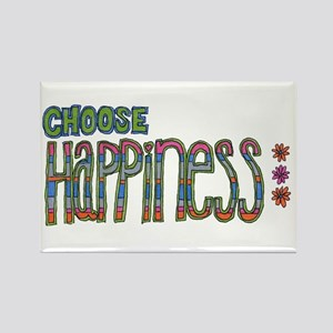 Choose Happiness Rectangle Magnet (10 pack)