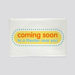 Coming Soon Rectangle Magnet
