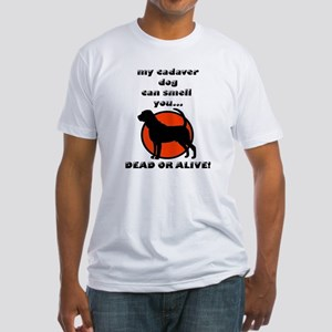 cadaver bloodhound Fitted T-Shirt