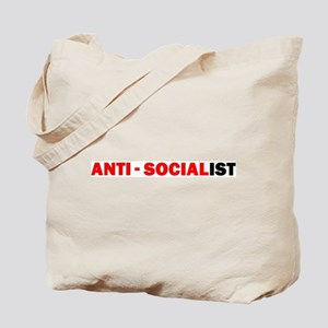 Anti-Socialist Tote Bag
