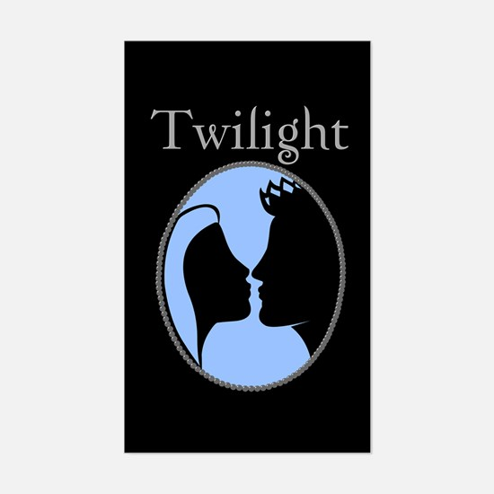 Twilight Silhouette Rectangle Decal