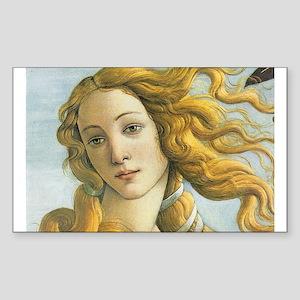 The Birth of Venus Rectangle Sticker
