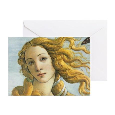 The Birth of Venus Greeting Cards (Pk of 10)