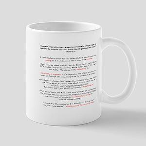 1 Peter 3-15 Mugs