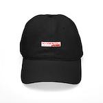 No Smoking Steam Engine Sign Black Cap