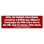 Still No Collusion Except Sticker (Bumper)