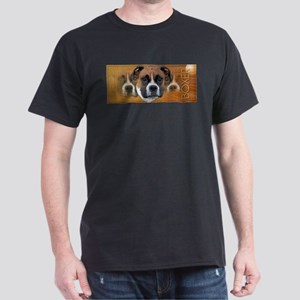 Crescent Moon Boxer Dark T-Shirt