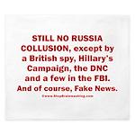 Still No Collusion Except King Duvet