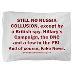 Still No Collusion Except Pillow Sham