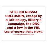 Still No Collusion Except Small Poster