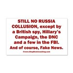 Still No Collusion Except 20x12 Wall Decal