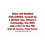 Still No Collusion Except 35x21 Wall Decal