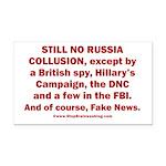 Still No Collusion Except Rectangle Car Magnet