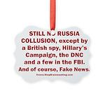 Still No Collusion Except Picture Ornament