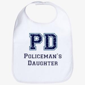 PD Policeman's Daughter Bib