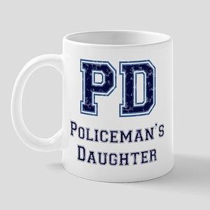 PD Policeman's Daughter Mug