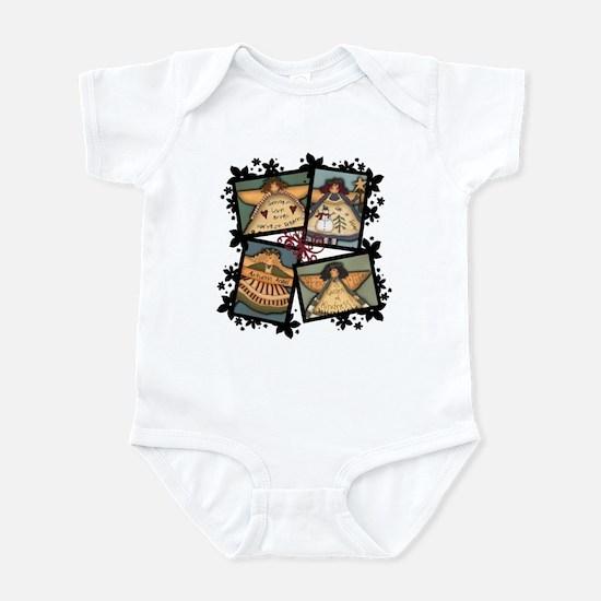 Angelic Four Infant Bodysuit