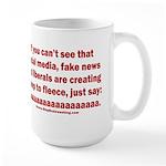 Liberal Sheep Creation 15 oz Ceramic Large Mug
