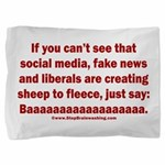 Liberal Sheep Creation Pillow Sham