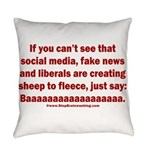 Liberal Sheep Creation Everyday Pillow