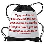 Liberal Sheep Creation Drawstring Bag