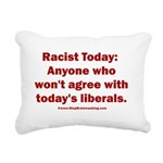 Liberal definition of Ra Rectangular Canvas Pillow