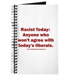 Liberal definition of Racist Journal