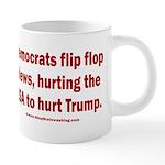 Flip to Hurt Trump 20 oz Ceramic Mega Mug