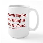 Flip to Hurt Trump 15 oz Ceramic Large Mug