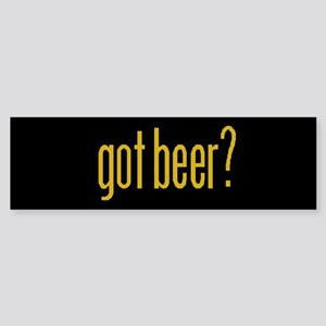 Got Beer Bumper Sticker