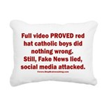 Smearing Kids Rectangular Canvas Pillow