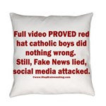 Smearing Kids Everyday Pillow