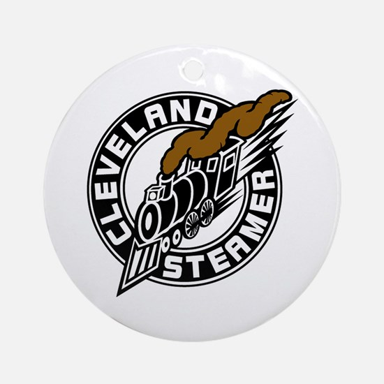 Cleveland Steamer Ornament (Round)