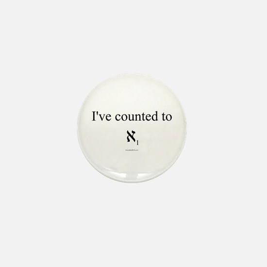 I've Counted to Aleph 1 - Mini Button