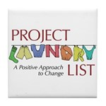 Project Laundry List Tile Coaster