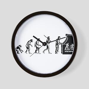Gamer Evolution Wall Clock