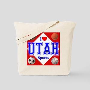 I Love Utha Tote Bag
