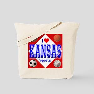 I Love Kansas Tote Bag
