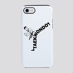 Taekwondo Kicker iPhone 7 Tough Case