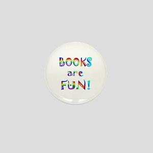 Books Mini Button