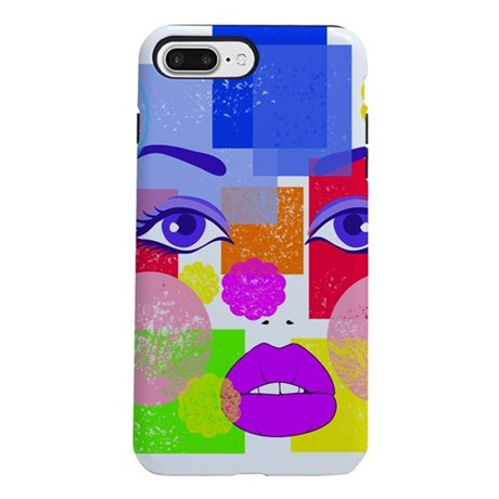 Abstract Face iPhone 7 Plus Tough Case