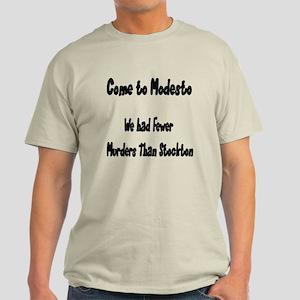 Visit Modesto Light T-Shirt