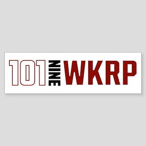 101 Nine W K R P Bumper Sticker