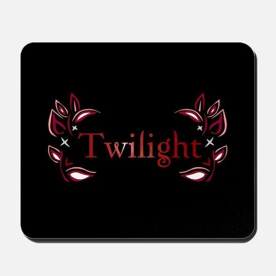 Twilight Floral Mousepad